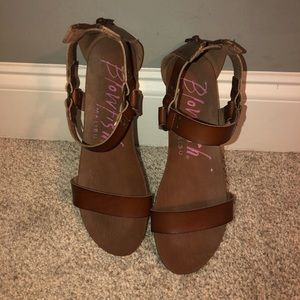 Blowfish Leather Sandals